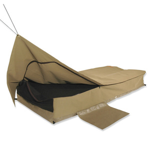 Sahara Traveller Brown Deluxe King Single Traditional Swag & Bag