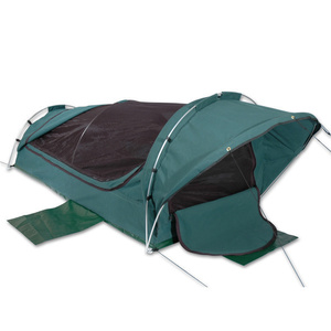 Sahara Roamer Deluxe King Single Dome Canvas Swag & Bag